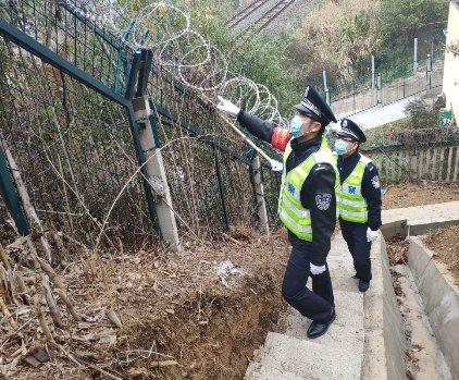 保障春运返程线路安全,霞浦铁警在行动